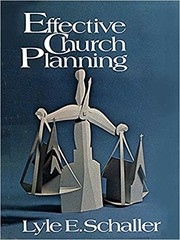 Cover of: Effective church planning