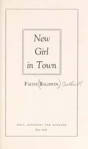 Cover of: New girl in town