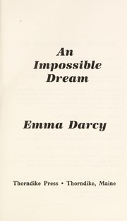Cover of: An impossible dream