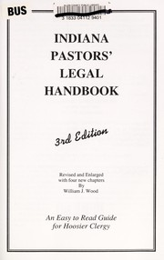 Cover of: Indiana pastors