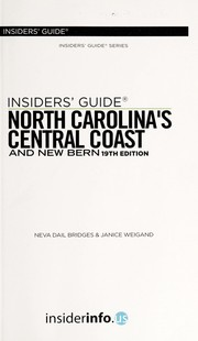 Cover of: North Carolina's central coast and New Bern