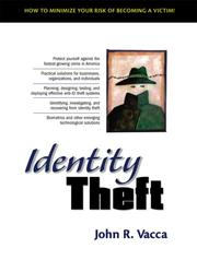 Cover of: Identity Theft | John R. Vacca