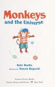 Cover of: Monkeys and the universe