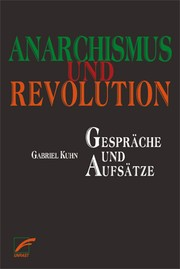 Cover of: Anarchismus und Revolution