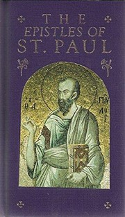Cover of: The Epistles of St. Paul/in the Authorized Version