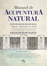Cover of: Manual de acupuntura natural by