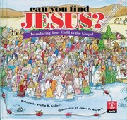 Cover of: Can You Find Jesus?