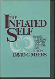 Cover of: The inflated self | David G. Myers