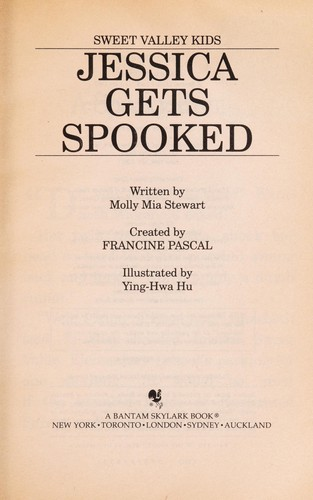 Jessica gets spooked by Francine Pascal