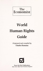 Cover of: World human rights guide | Charles Humana