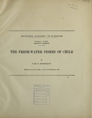 Cover of: The fresh-water fishes of Chile