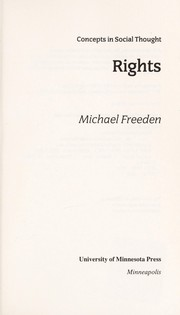 Cover of: Rights
