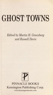 Cover of: Ghost towns