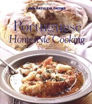 Cover of: Portuguese Homestyle Cooking | Ana Patuleia Ortins