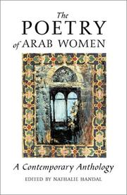Cover of: The Poetry of Arab Women | Nathalie Handal