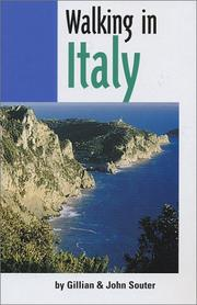 Cover of: Walking in Italy