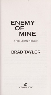 Cover of: Enemy of mine | Brad Taylor