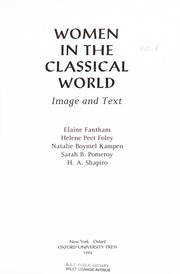 Cover of: Women in the classical world