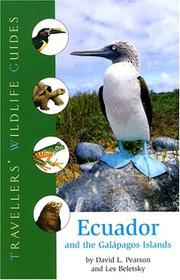 Cover of: Ecuador and the Galápagos Islands | David Pearson