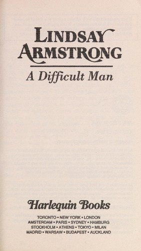 Difficult Man by Armstrong