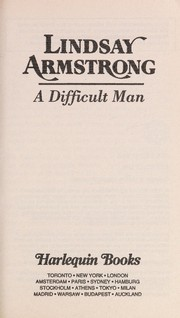 Cover of: Difficult Man | Armstrong