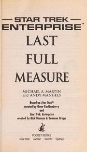 Cover of: Last full measure | Michael A. Martin