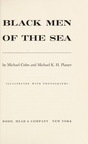 Cover of: Black men of the sea