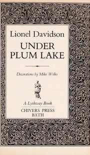 Cover of: Under Plum Lake | Lionel Davidson