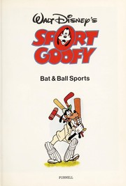 Cover of: Walt Disney's Sport Goofy-Racket Sports |