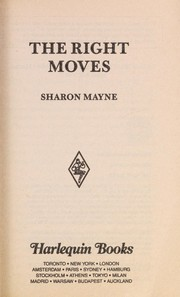Cover of: Right Moves | Sharon Mayne