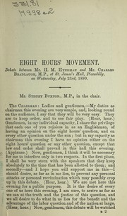 Cover of: Eight hours' movement