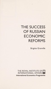 Cover of: Success of Russian Economic Reforms