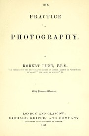 Cover of: The practice of photography