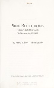 Cover of: Sink reflections | Marla Cilley