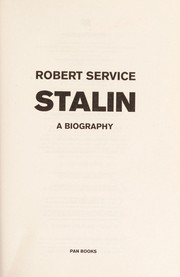 Cover of: Stalin