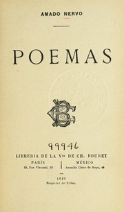Cover of: Poemas