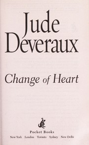 Cover of: Change of heart | Jude Deveraux