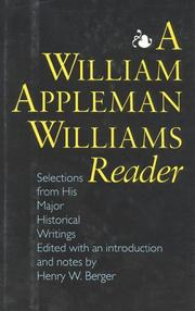 Cover of: A William Appleman Williams Reader | Henry Berger