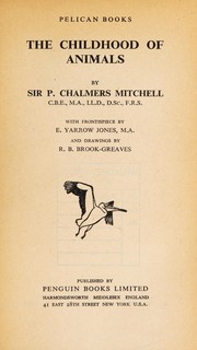 Cover of: The childhood of animals