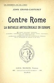 Contre Rome by Grand-Carteret, John