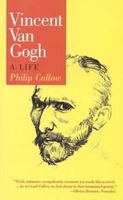 Cover of: Vincent van Gogh | Callow, Philip.
