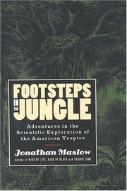 Cover of: Footsteps in the jungle: adventures in the scientific exploration of the American tropics