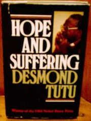 Cover of: Hope and suffering: sermons and speeches