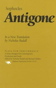 Cover of: Antigone
