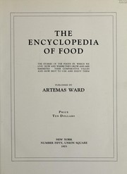 Cover of: The encyclopedia of food