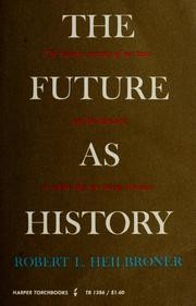 Cover of: The future as history