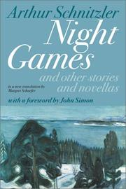 Cover of: Night games: And Other Stories and Novellas