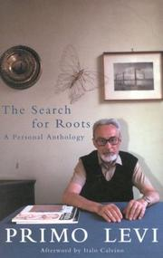 Cover of: The Search For Roots: A Personal Anthology