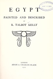 Cover of: Egypt painted and described | Robert Talbot Kelly