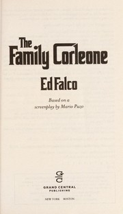 Cover of: The family Corleone | Edward Falco